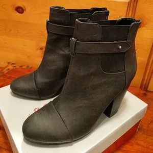 NWOT Black Ankle Boots